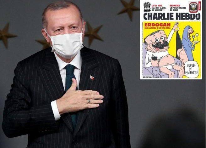 La Turchia fa causa a Charlie Hebdo per le vignette contro Erdogan